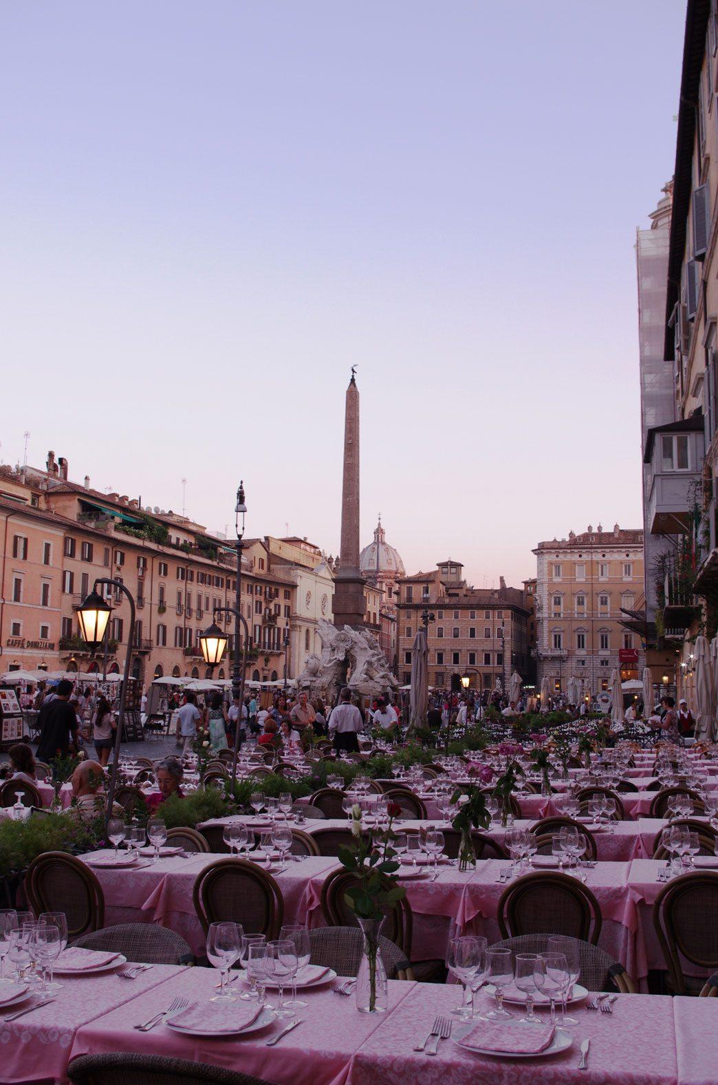 Ristorante 4fiumi piazza navona rome