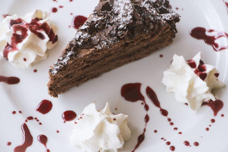torta al cioccolato ristorante 4 fiumi roma