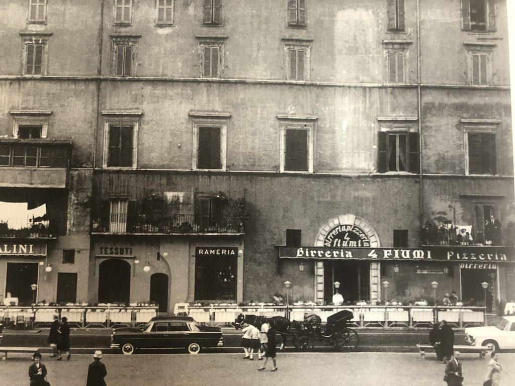 ristorante 4 fiumi foto storica