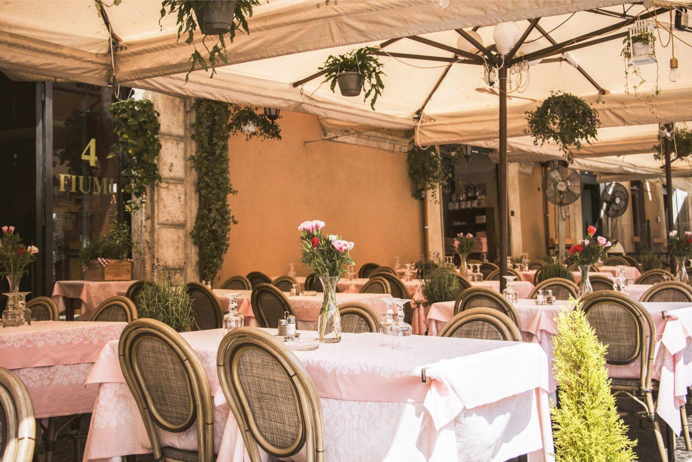 4 fiumi restaurant and pizzeria piazza navona rome