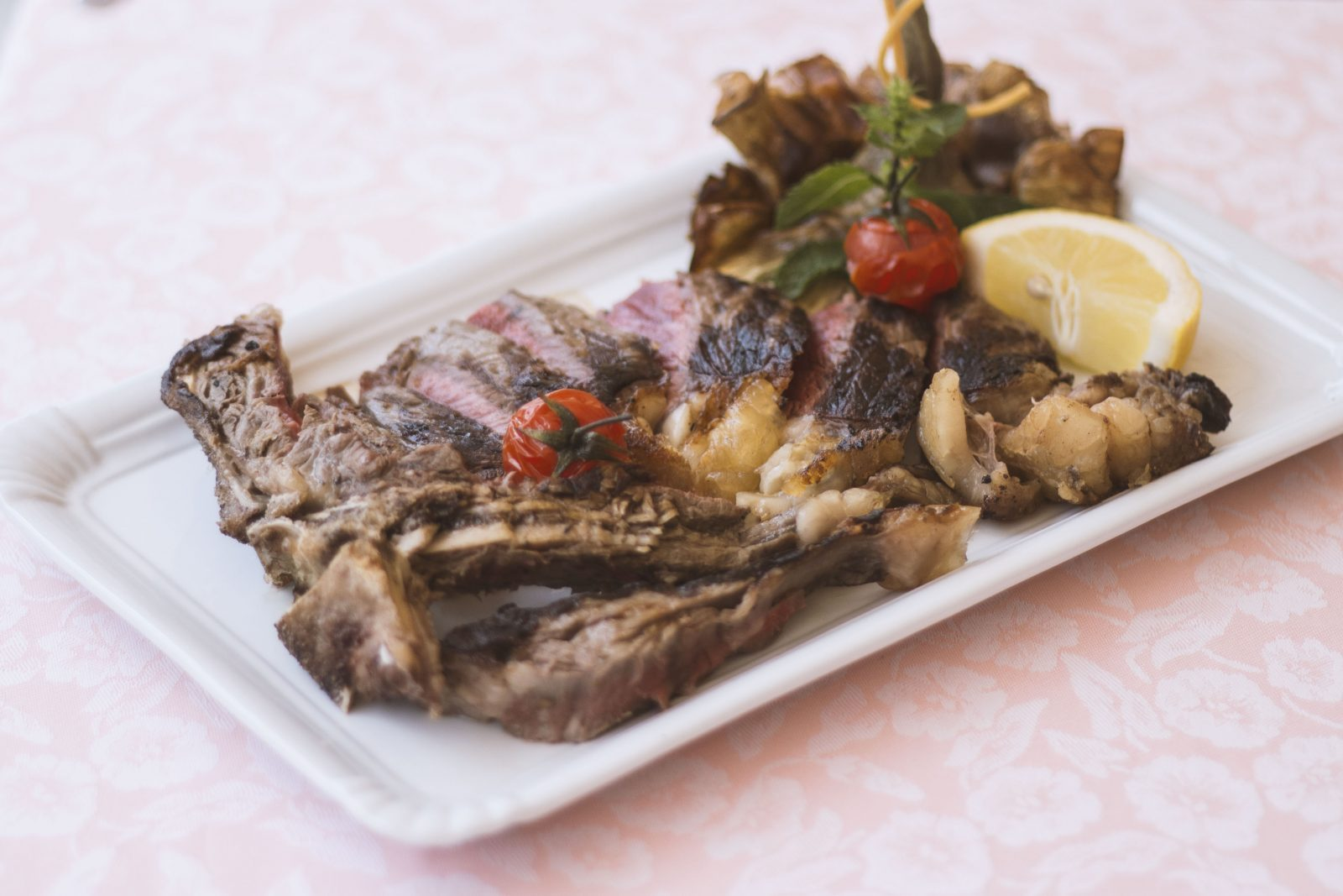 bistecca carne ristorante 4 fiumi roma