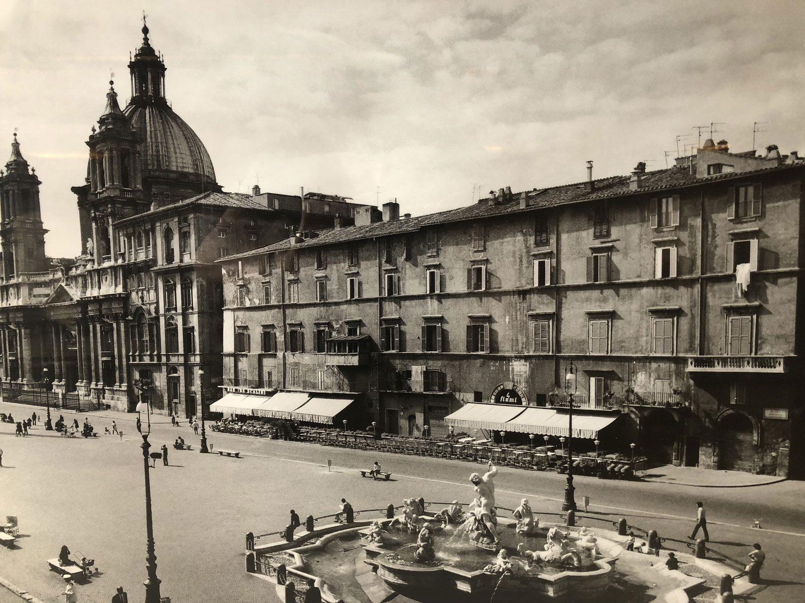 ristorante 4 fiumi history