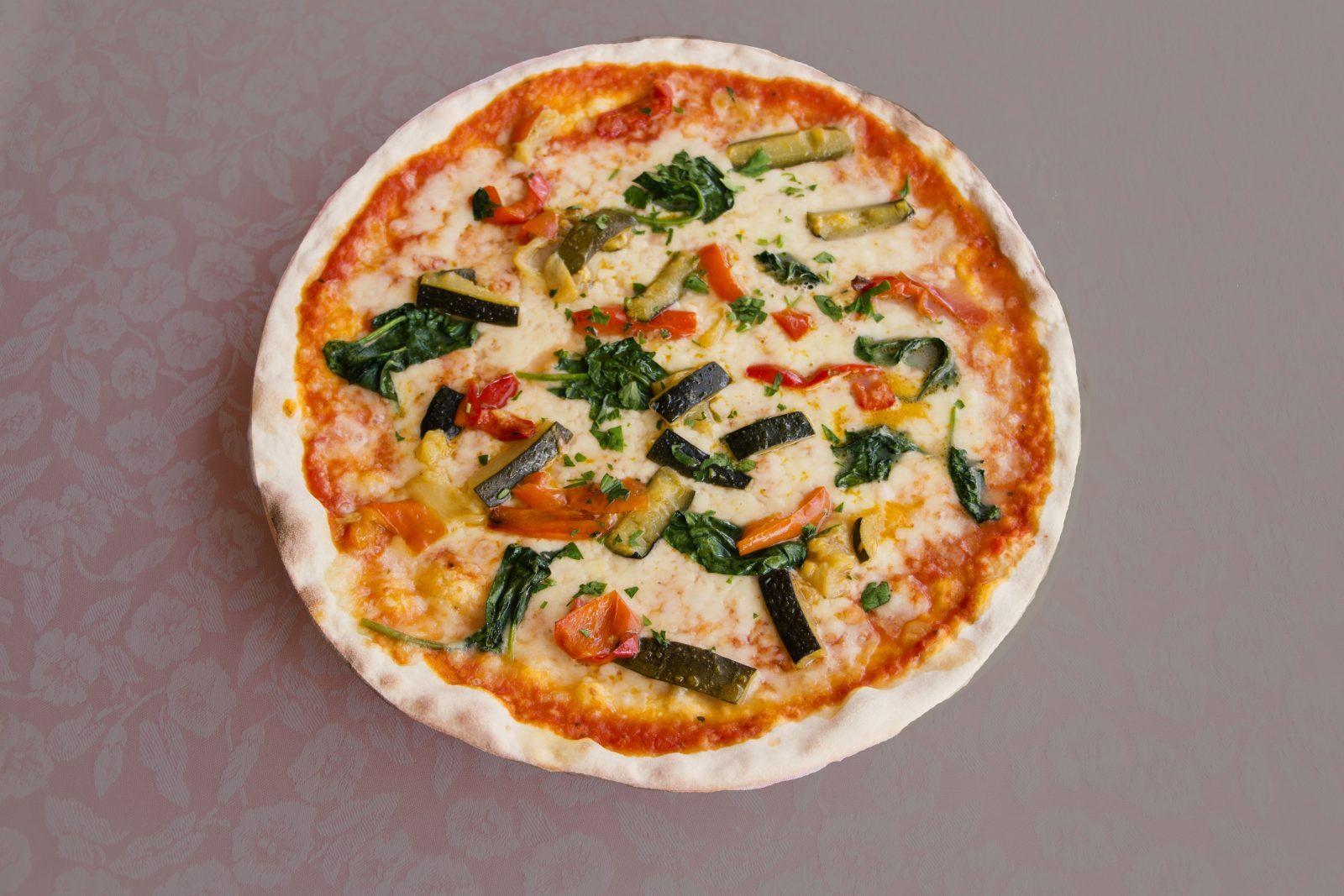 pizza primavera ristorante 4 fiumi roma